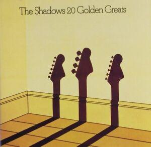 THE SHADOWS 20 GOLDEN GREATS CD