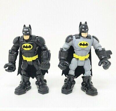 DC Super Friends Batman Hero World Gray & Black Suit 4.5