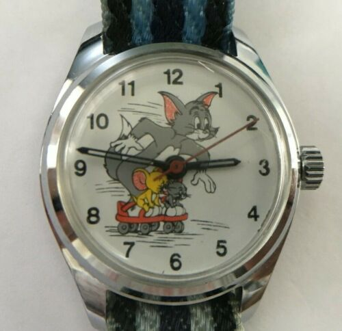 [w351] Tom and Jerry HONG KONG Disney watch VG