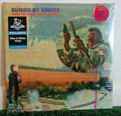 GUIDED BY VOICES Under The Bushes Under The Stars 2016 Splatter Vinyl LP Sealed