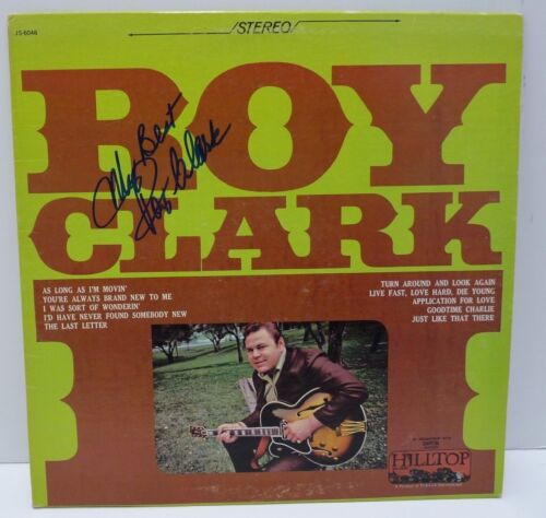 Roy Clark Self Titled Signed Autographed LP Album PSA or Beckett Guaranteed