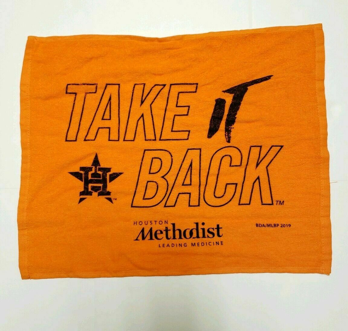 Houston Astros 2019 Playoffs SGA Rally Towel Take It Back AL