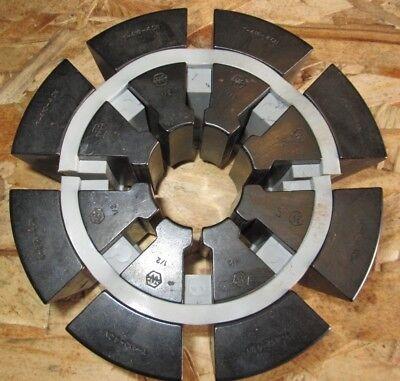 Weatherhead Hydraulic Hose Crimper Die Set T410-4cn 12 Collet Set