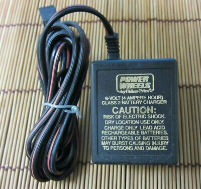 Used OEM Fisher Price Power Wheels 6 V Battery Charger - 040135 - 00801-0976