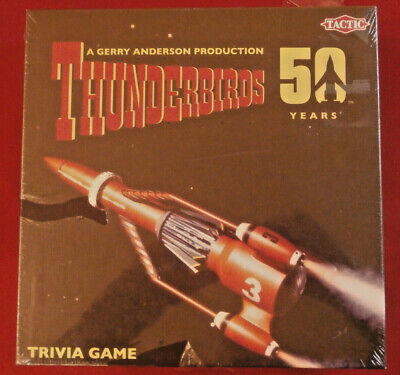 THUNDERBIRDS Trivia Card Game (400 cards) - 50th Anniv. - FACTORY SEALED - 2016