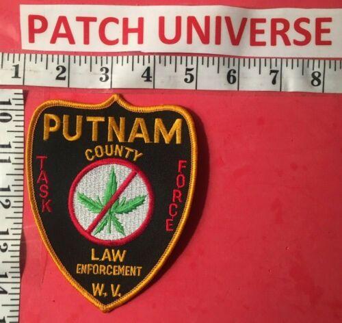PUTNAM COUNTY WEST VIRGINIA  TASK FORCE SHOULDER  PATCH  B136