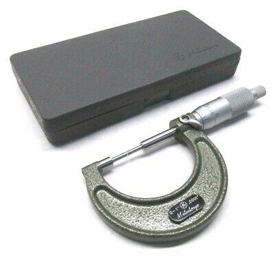 Clean Mitutoyo 0 To 1 Carbide-tipped Spline Micrometer - .0001 - 111-166