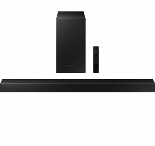 Samsung HW-T450 2.1-Channel Soundbar & Wireless BT Subwoofer With Remote - New!