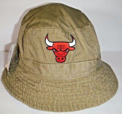 CHICAGO BULLS NBA NWT AUTHENTIC BUCKET SMALL/MEDIUM HAT BY DREW PEARSON