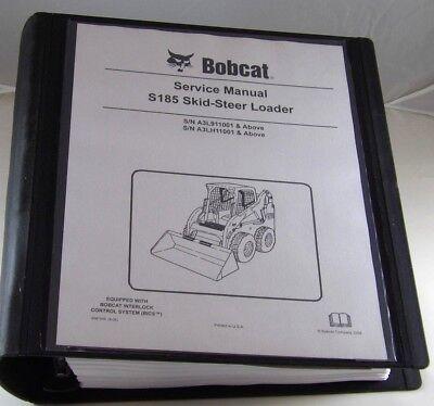 Bobcat S185  Skid Steer Loader Service Manual