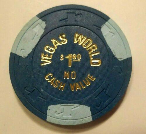 $1 Casino Chip. Vegas World, Las Vegas, NV. Good For 1 Play.