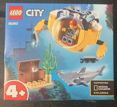 LEGO City 60263 Minisottomarino Oceanico NUOVO SIGILLATO