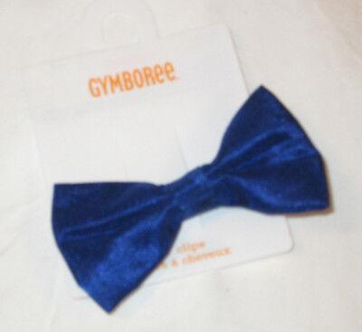 NWT GYMBOREE BEST IN BLUE ROYAL BLUE BOW CLIP,RL