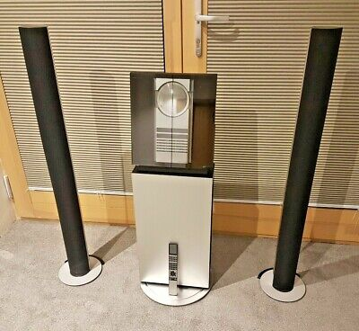 Outstanding Bang & Olufsen Beosound 3200 CD/Radio/Hard Disc Stand,Speakers &Beo4