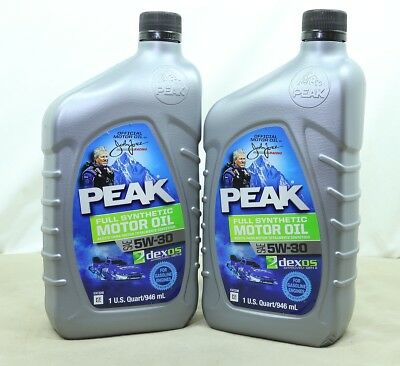 Peak Full Synthetic Motor Oil 5W-30 2 Quarts