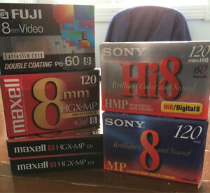 8 MM VIDEO CASSETTE  (SONY,DENON,MAXELL,,FUJI)
