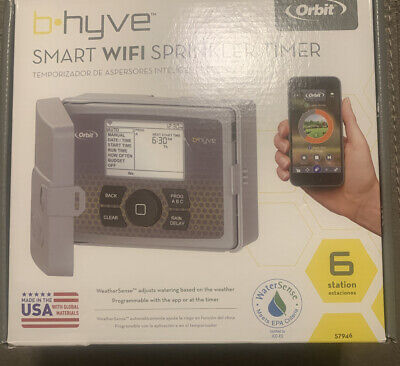 OPEN BOX Orbit B-hyve Smart WiFi Sprinkler Timer 6 Station 57946