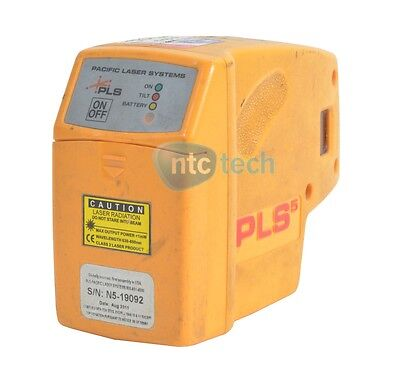 Pacific Laser Systems Laser Pls-60541 Pls 5 Laser Level Tool Yellow Grade C
