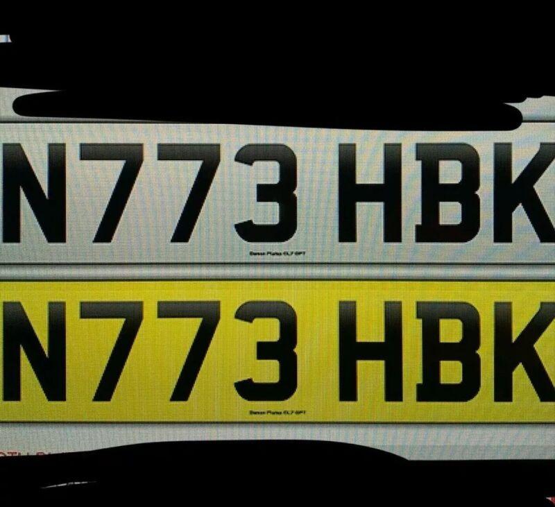N773+HBK+Number+Plate