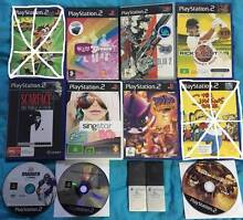 9 SONY PLAYSTATION 2 GAMES + ACCESSORIES Colyton Penrith Area Preview