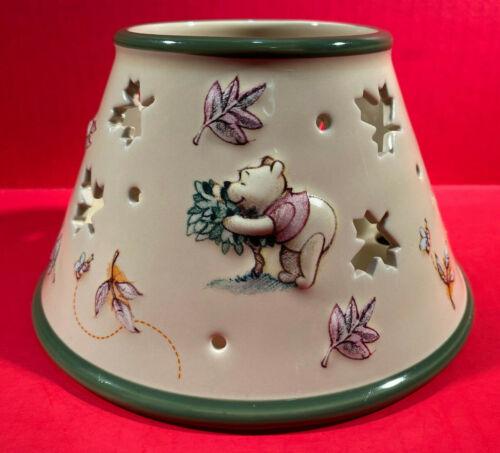 Walt Disney World Winnie The Pooh Piglet Leaf Cut Out Candle Shade Jar Topper