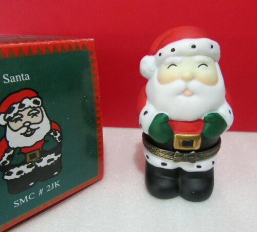 Christmas Festive SANTA CLAUS Trinket Box
