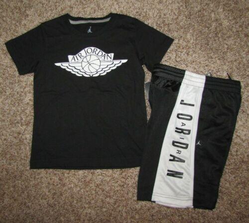 Air Jordan Boys Set Shirt Shorts Size 7
