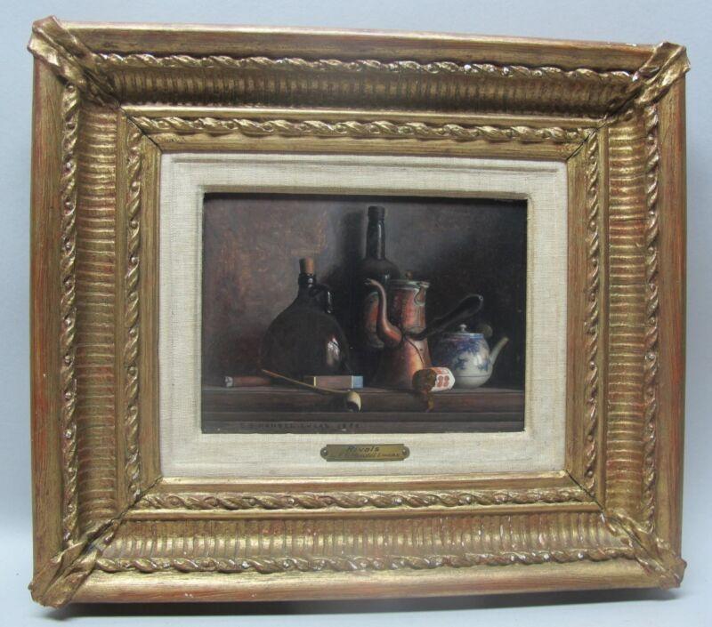 Museum-quality Edward George Handel Lucas English Antique Oil Painting  C. 1888