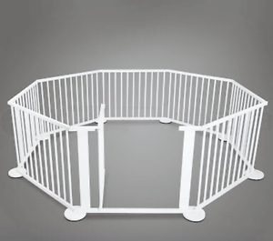 Bubbli - Large Wooden Playpen (White) AND Foam Play Mats Mount George Adelaide Hills Preview