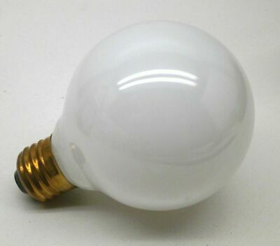 (5-Pack) GE 60-Watt G25 Incandescent White Globe Lamp Light Bulb 60W