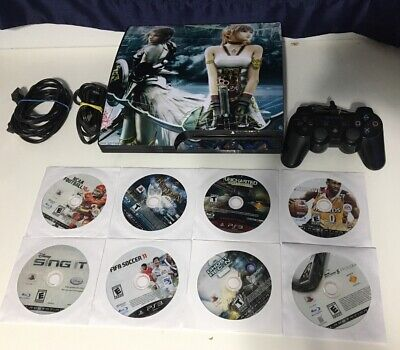 Sony PlayStation 3 - Slim 160GB CECH-2501A Console Complete Games Controller