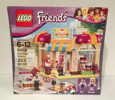 LEGO FRIENDS DOWNTOWN BAKERY 253 PIECES #41006