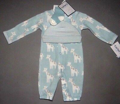 Baby boy clothes, Newborn, Carter's 3 piece Converter Gowns set