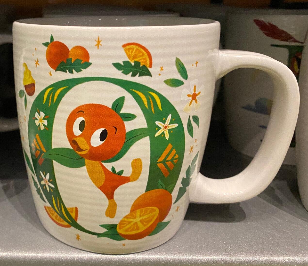 Disney Parks O is for Orange Bird ABC Ceramic Mug NEW