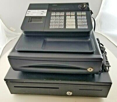 Casio Pcr-272 Electronic Cash Register With Extra Drawer Keys -used