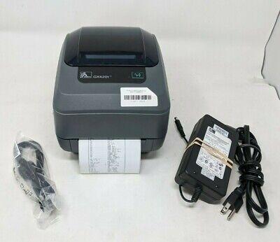 Zebra Gx420t Ethernet Network Usb Thermal Transfer Label Barcode Printer