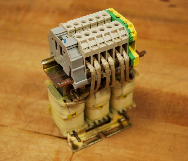 Siemens 4EP3200-1UK, Line  Reactor Transformer 6.3AMP 460V 60HZ T40/B - NEW