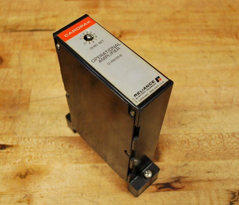 Reliance 0-49013-6 Cardpak Operational Amplifier - USED