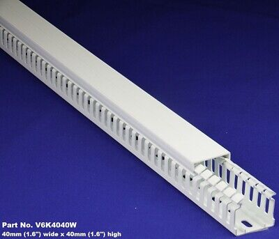 1 Meter - 1.5x1.5x2m White High Density Premium Wiring Ducts And Covers-ulcsa