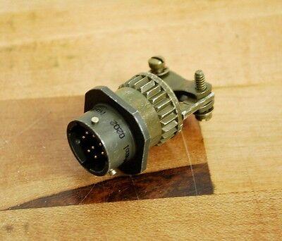Amphenol Ms3111f12 8P 8Pin Ms Male Plug   New   New