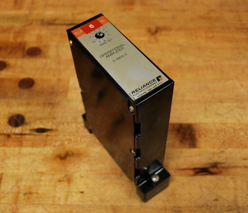 Reliance 0-49013-4 Cardpak Operational Amplifier, 0490134 - USED