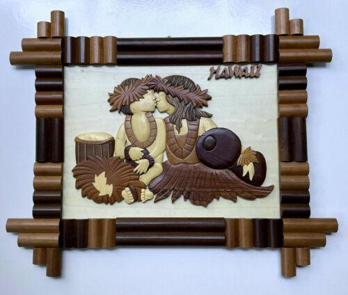 Island Wood Collections Hawaii Hand Crafted Wall Art
