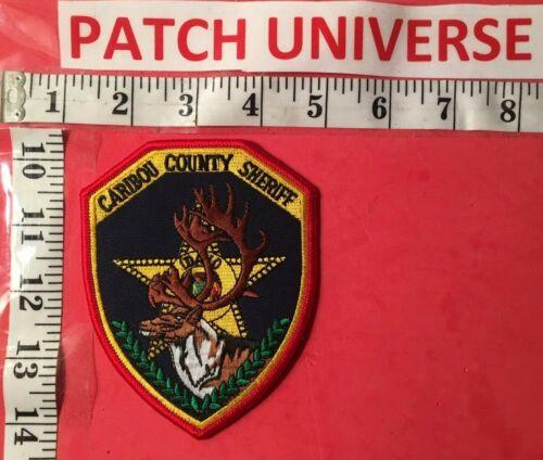 CARIBOU COUNTY IDAHO  SHERIFF  SHOULDER PATCH  D062