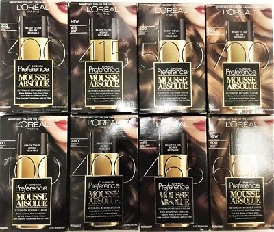 Loreal Paris Superior Preference Mousse Absolue Hair Color  Buy 2 Get 15  Off