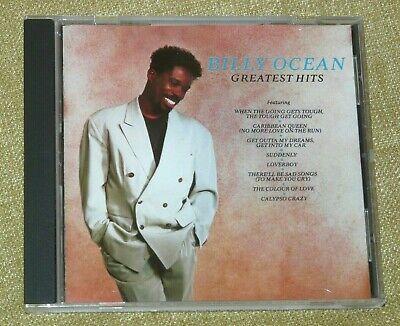 Billy Ocean - Greatest Hits : 1989 Jive CD