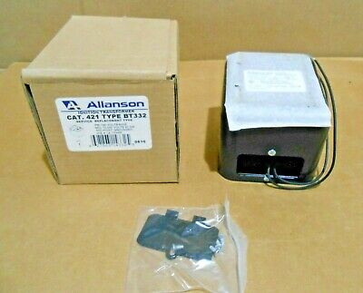 1 Nib Allanson 421-bt332 421bt332 Ignition Transformer 120v 23ma 20 Available