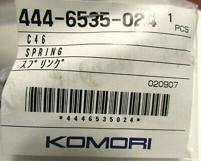 Genuine Oem Komori Spring 444-6535-024 Printing Press Part C46 020907 New