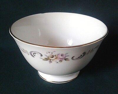 GAINSBOROUGH CHINA SUGAR BOWL BONE CHINA TEA SET SUGAR BASIN PINK & YELLOW ROSES for sale  Shipping to Ireland