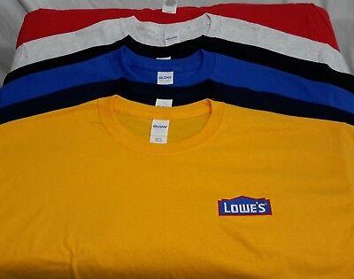 Lowes Home Improvement T Shirt T Shirt 100  Cotton Round Neck Shirt Size Xlarge