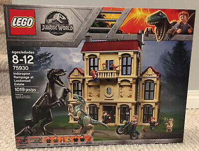 LEGO Jurassic World New Sealed 75930 Indoraptor Rampage at Lockwood Estate